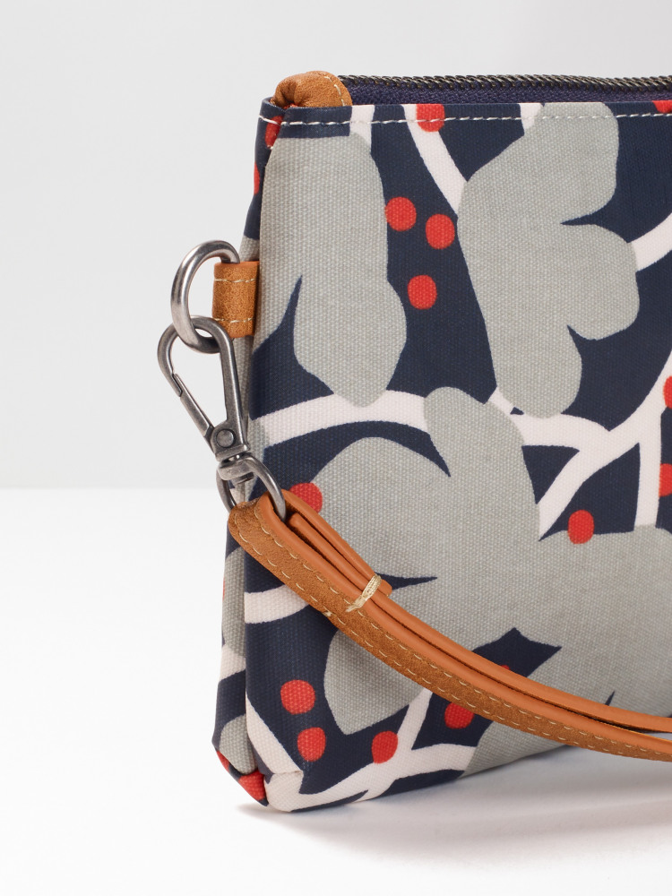 4d7b22a30 Floral Coated Canvas Pouch (Multi)   White Stuff
