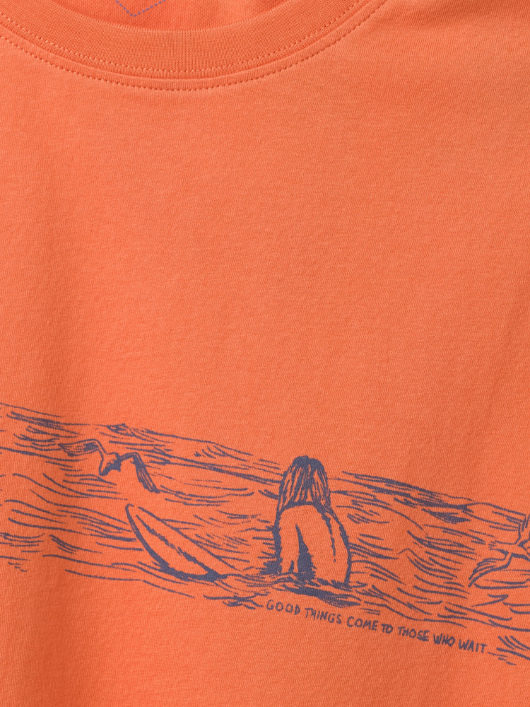 Waiting Surfer Graphic Tee