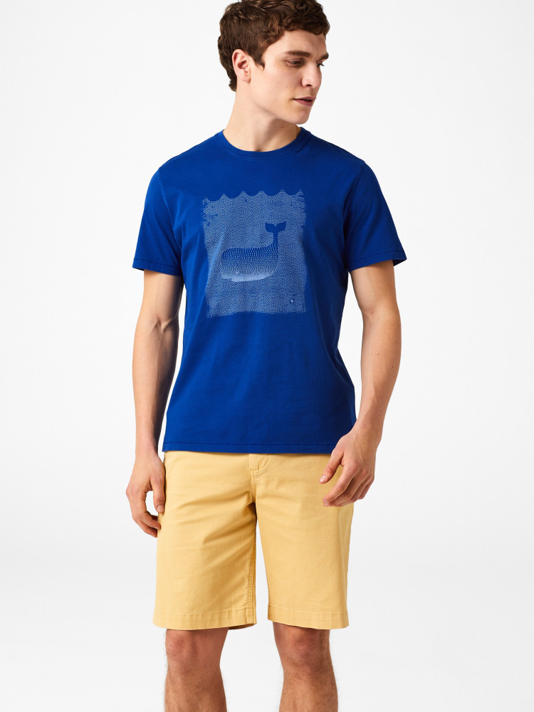 Japanese Whale Graphic Tee