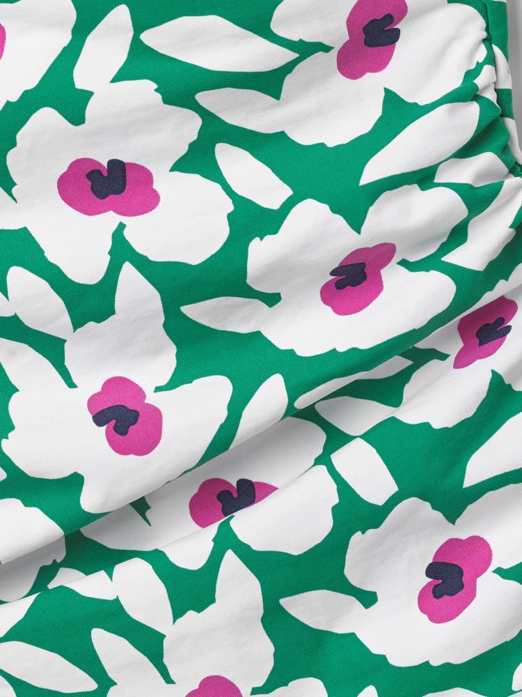 Poppy Wrap Swimsuit