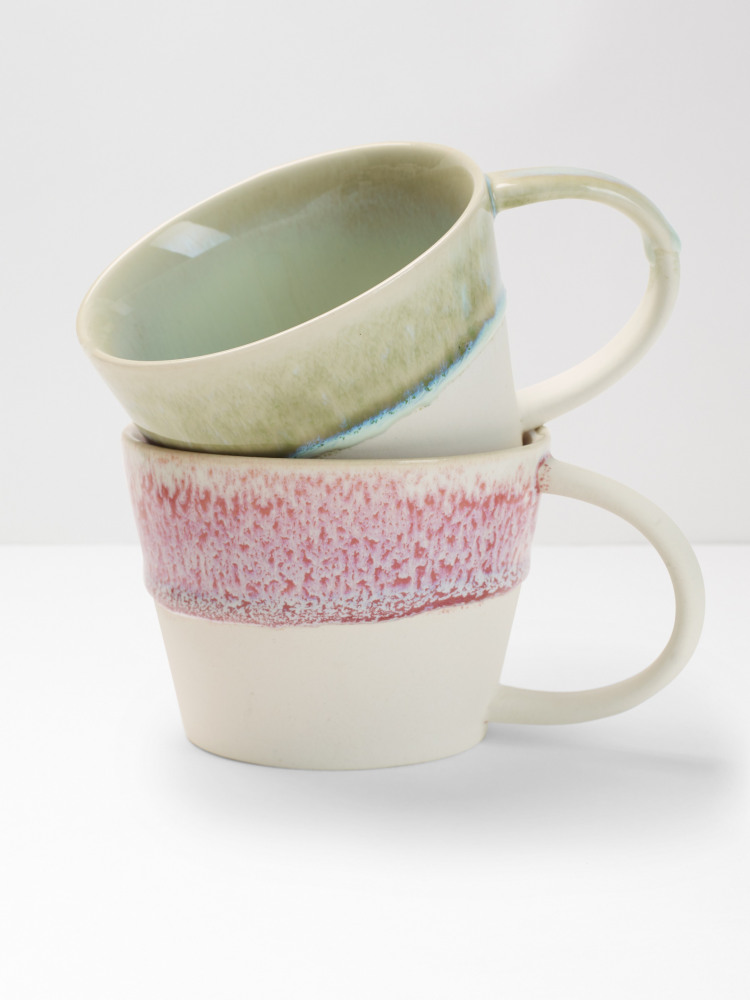 Dip Glazed Dripped Mug