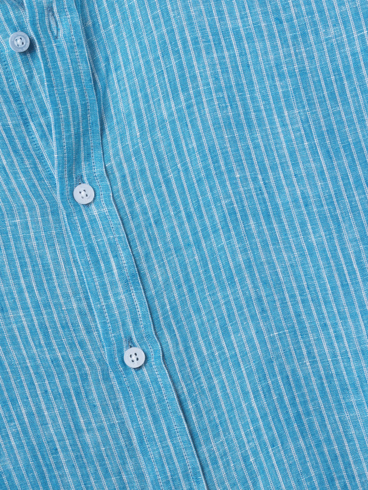 Lymington Stripe Linen Shirt