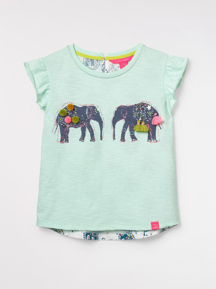 Ellie Elephant Jersey Tee