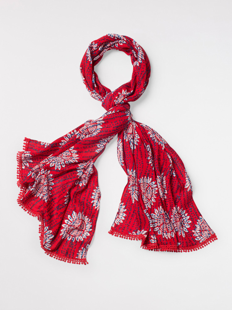 Verity Printed Viscose Scarf