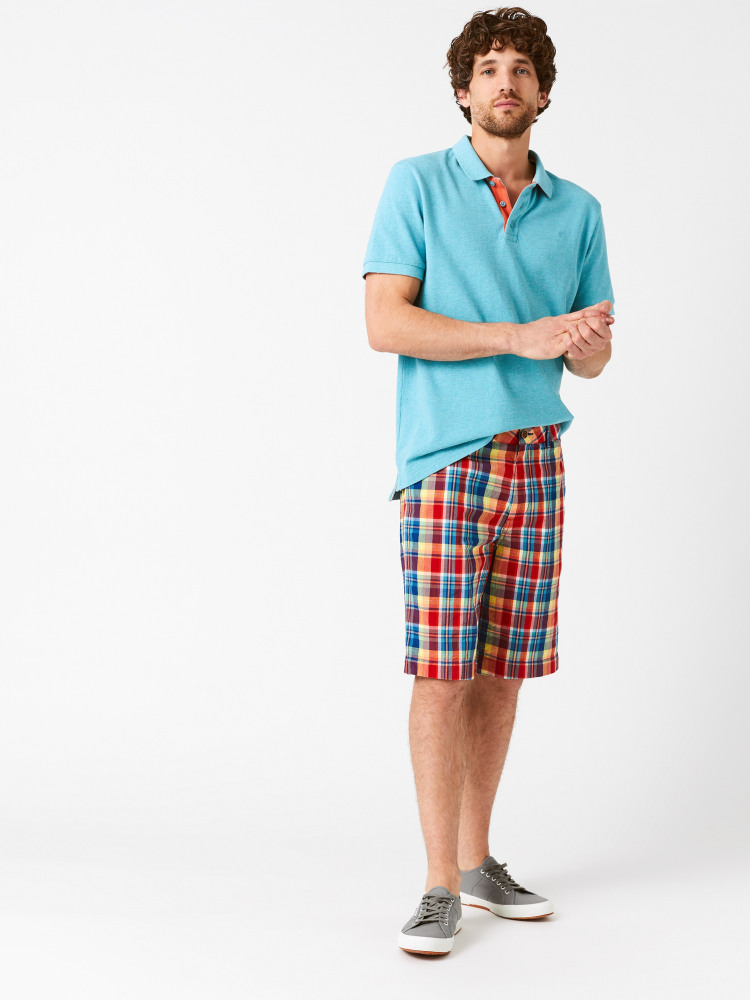 Banbury Check Chino Short