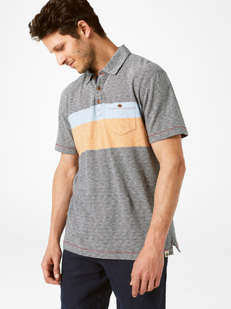 Howson Stripe Polo