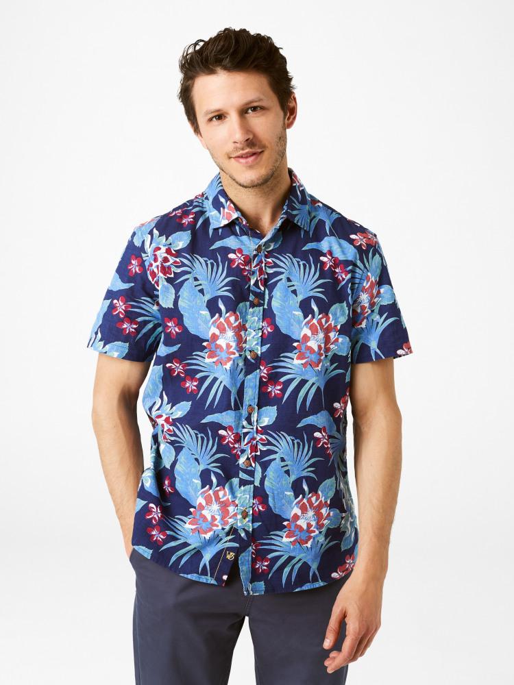 Kyoto Print Shirt