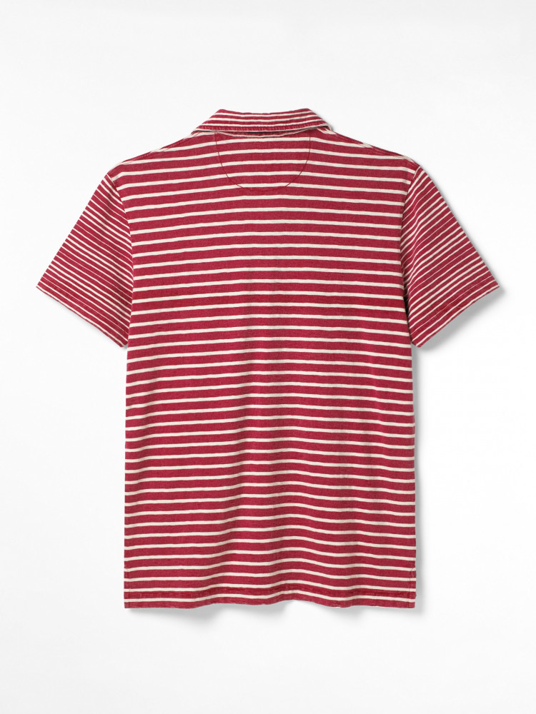 Bronsea Stripe Polo