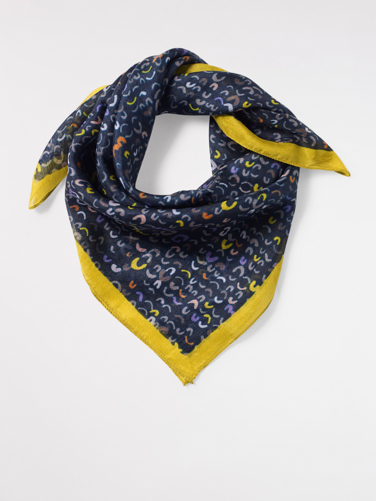 Scandi Square Silk Scarf