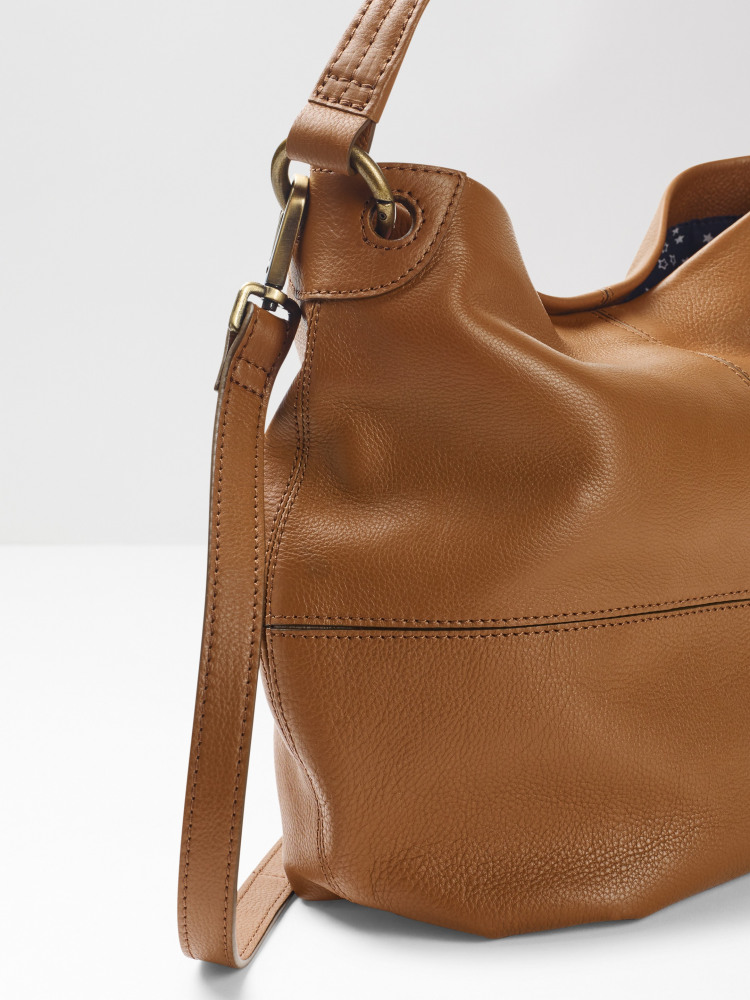 Blake Leather Hobo Bag