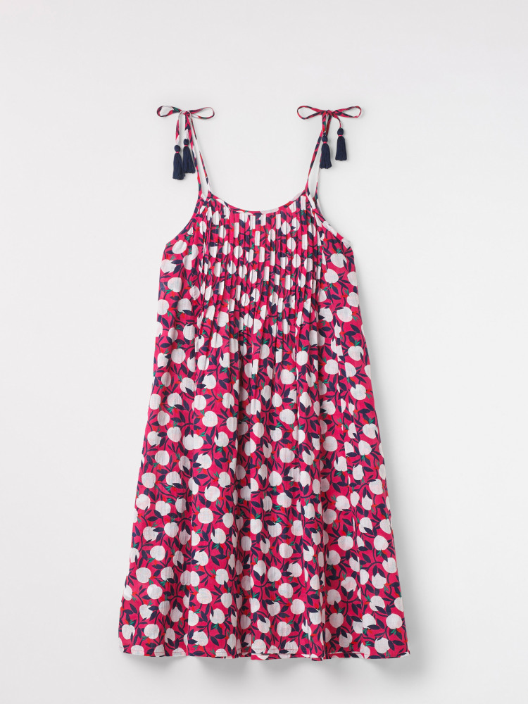 Summer Apples Beach Dress