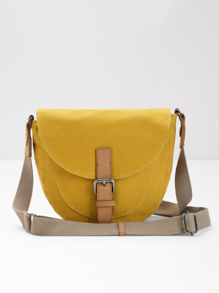 Bailey Saddle Canvas Crossbody