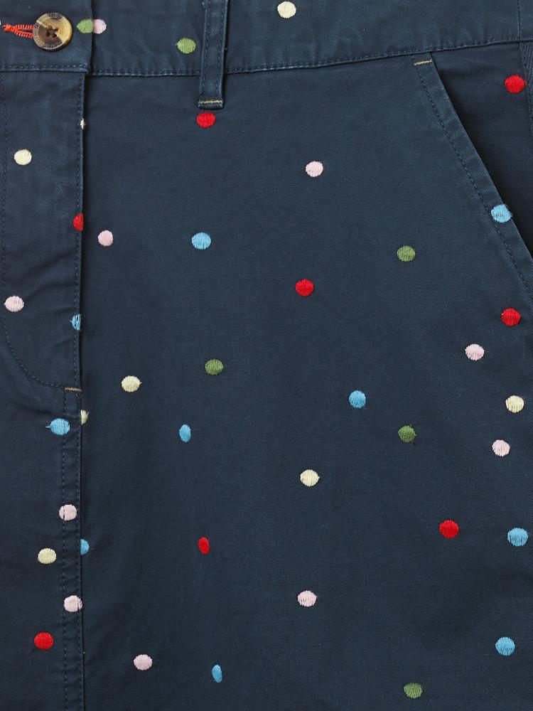 Spot Lindenberry Chino Skirt