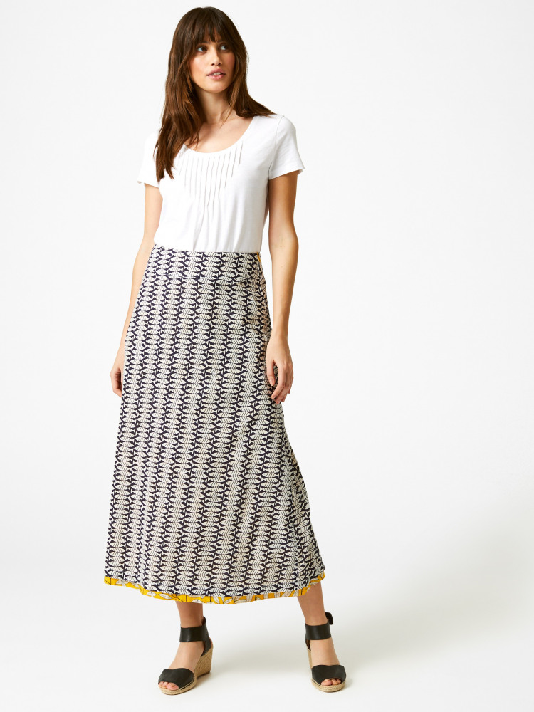 Namibia Reversible Maxi Skirt
