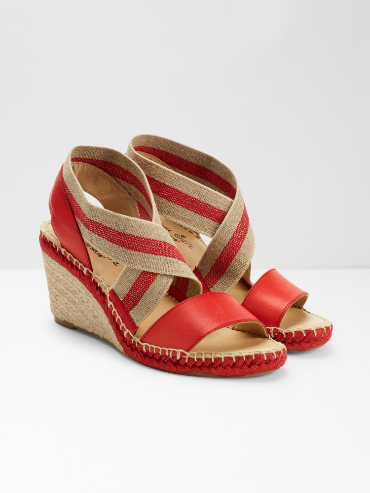 Penny Espadrille Wedges