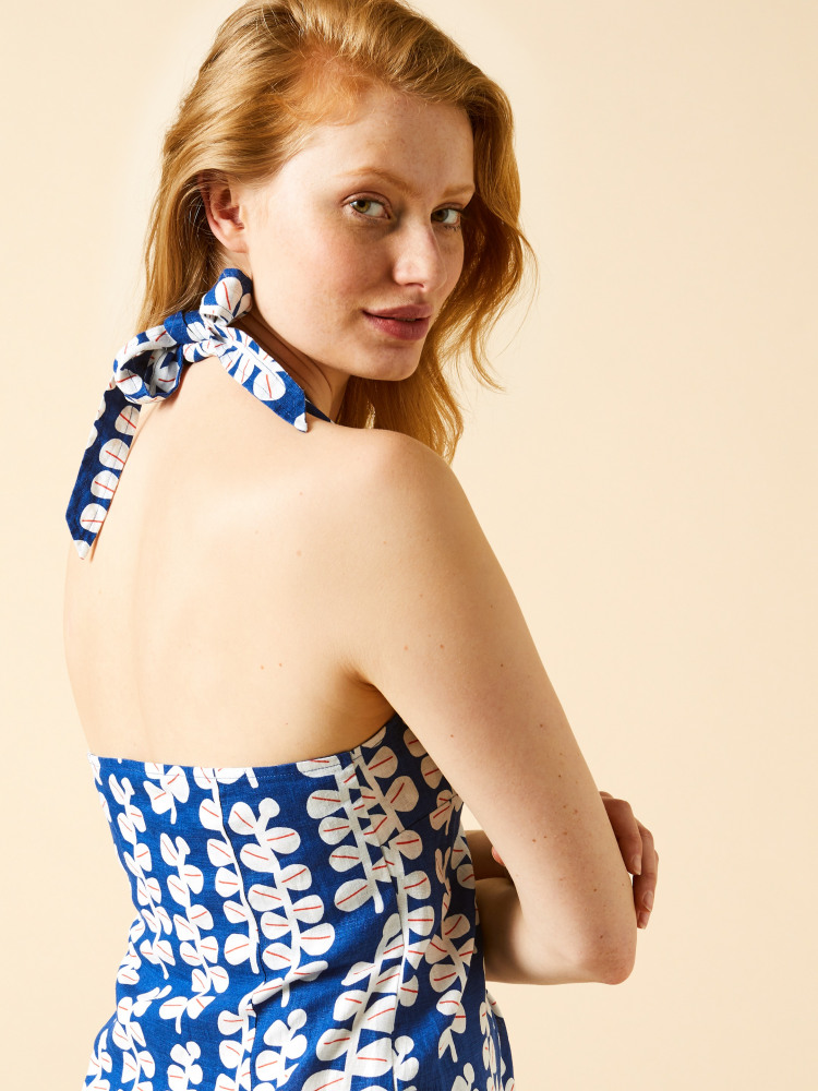 Hannah Linen Dress