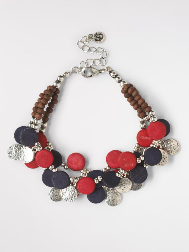 Metal & Mono Bead Bracelet