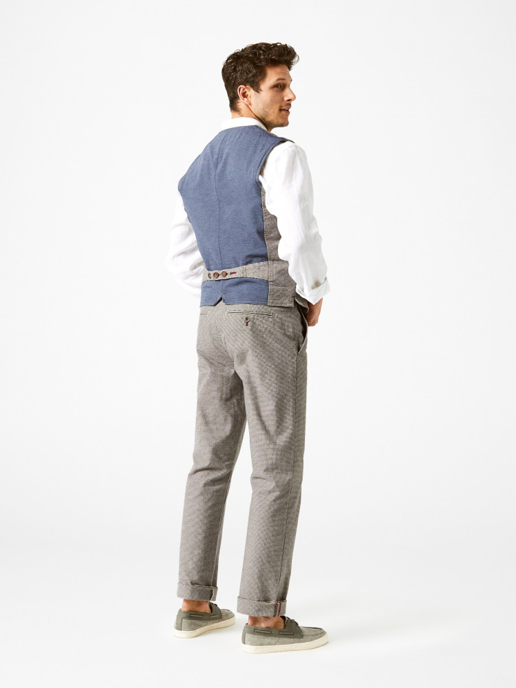 Diego Check Waistcoat