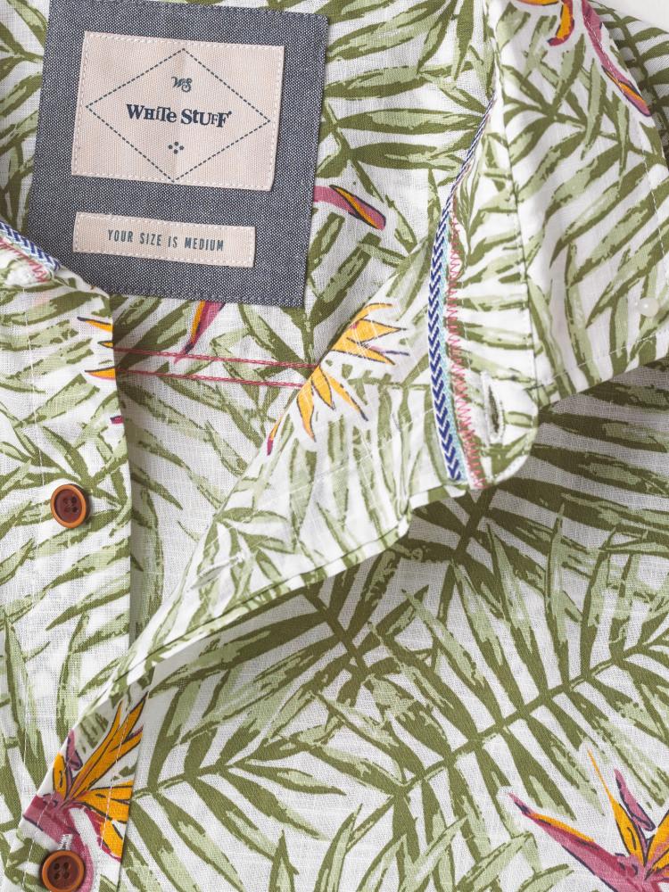 Tropics Print Shirt