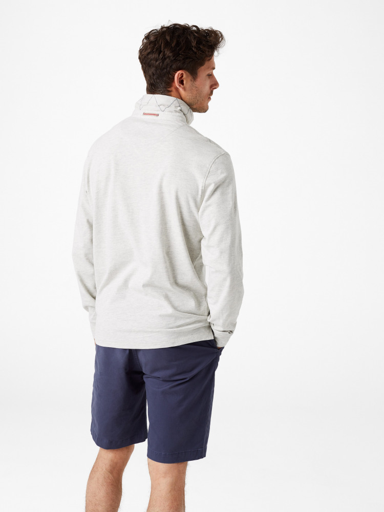 Wimborne Marl Long Sleeve Polo