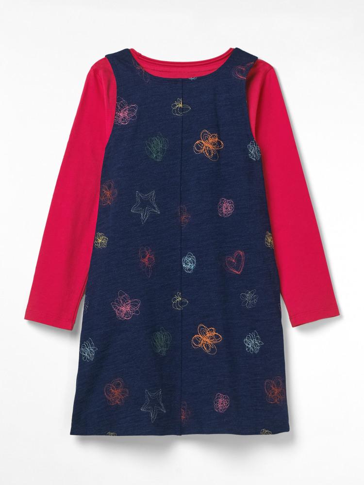 Polly Jersey Pinny Dress Set