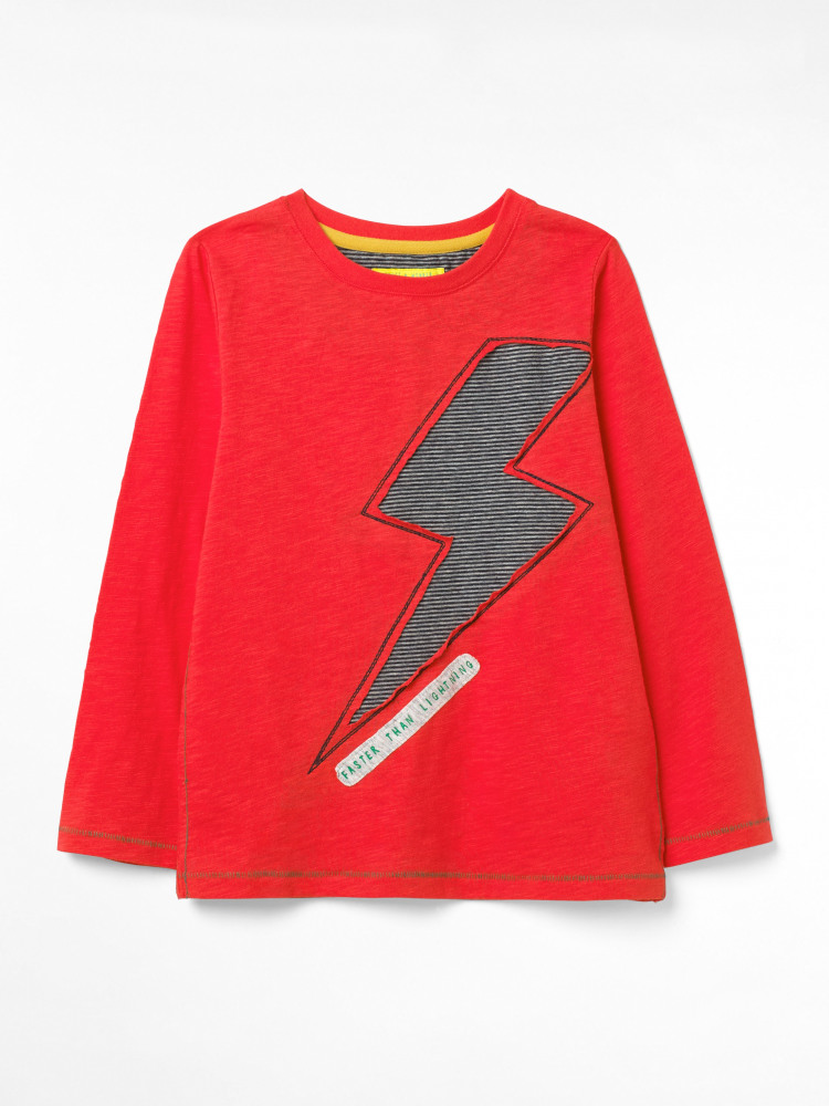 Fast As Lightning Jersey Tee