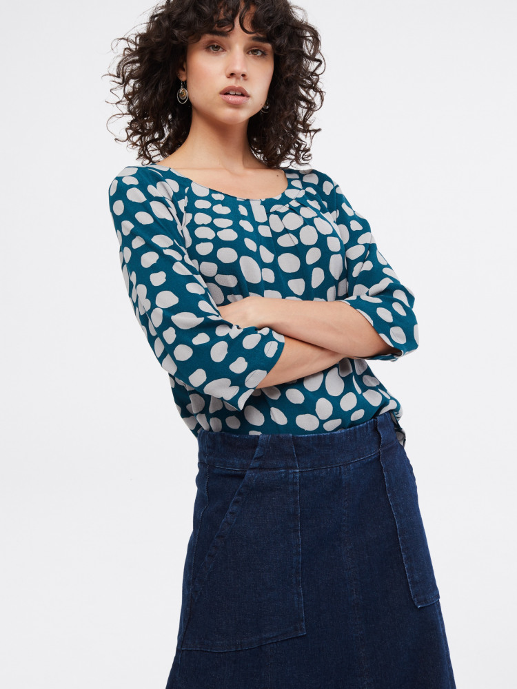 Aione Denim Skirt