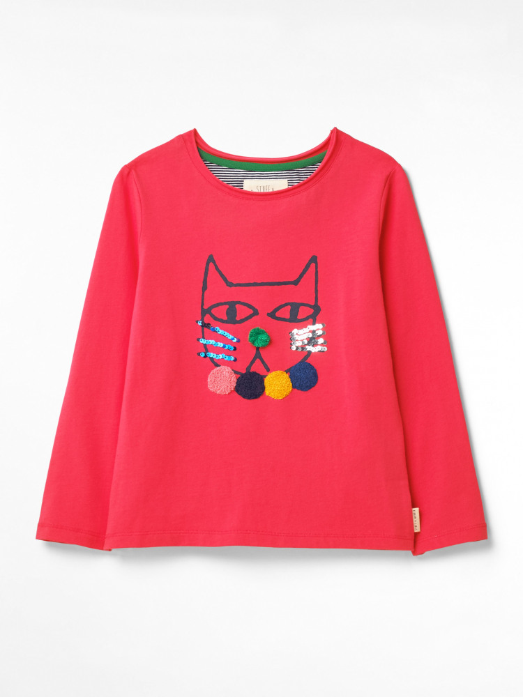 Pretty Kitty Long Sleeve Tee
