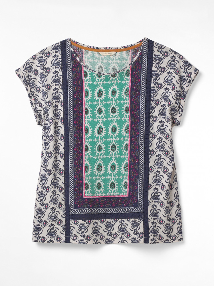 Frida Placement Print Tee