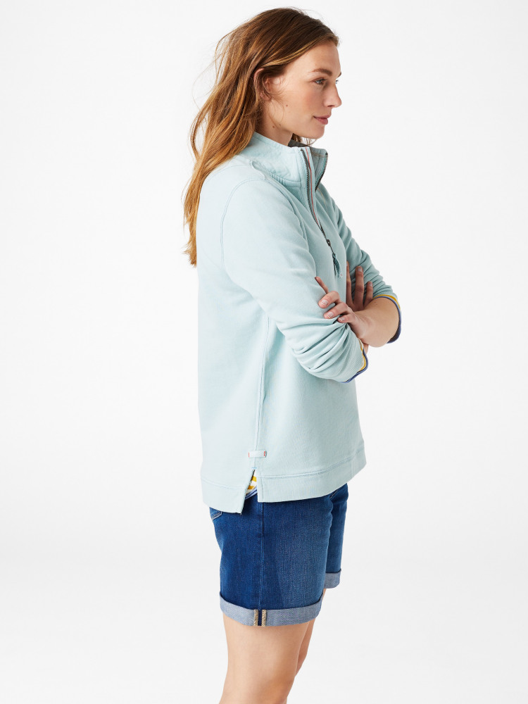 Pacific Half Zip Sweat