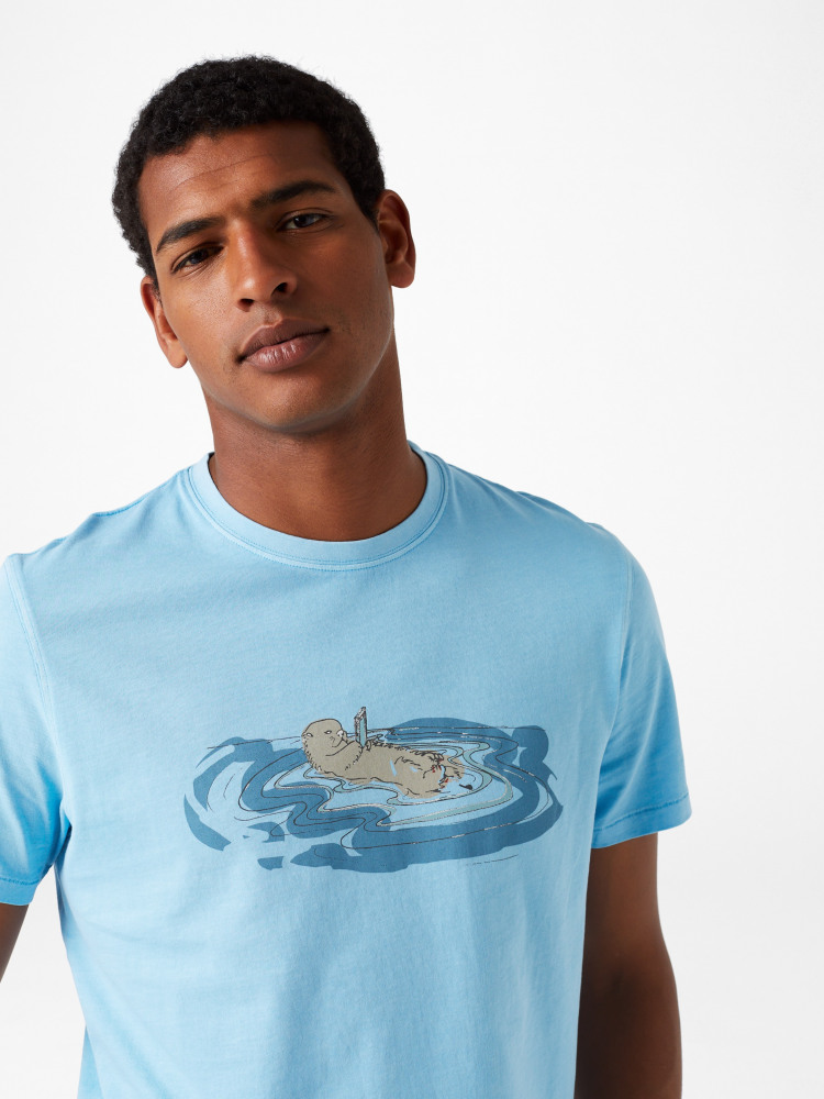 Floating Otter Graphic Tee