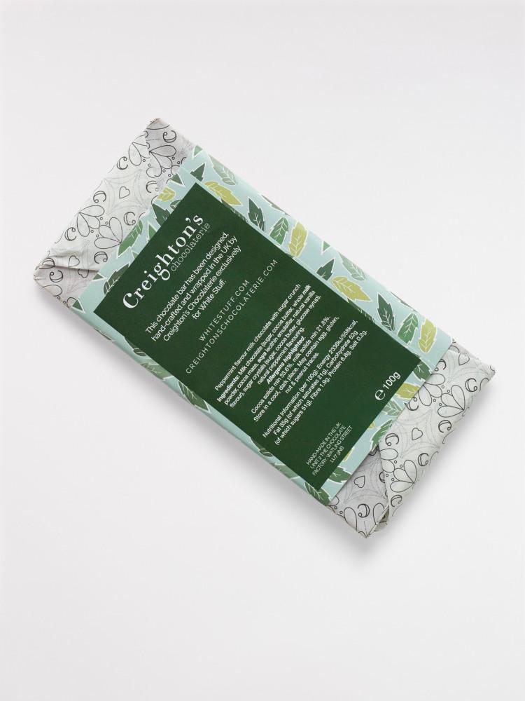 Mint Crunch Chocolate Bar