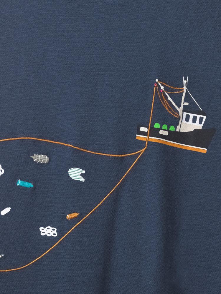 Plastic Ocean Graphic Tee