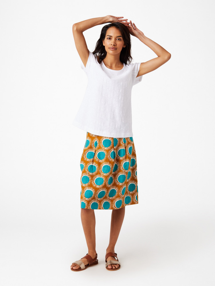 Casta Sun Print Skirt