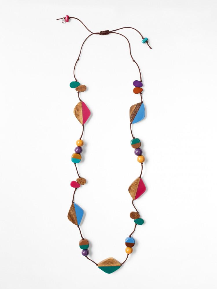 Callie Colour & Cord Necklace
