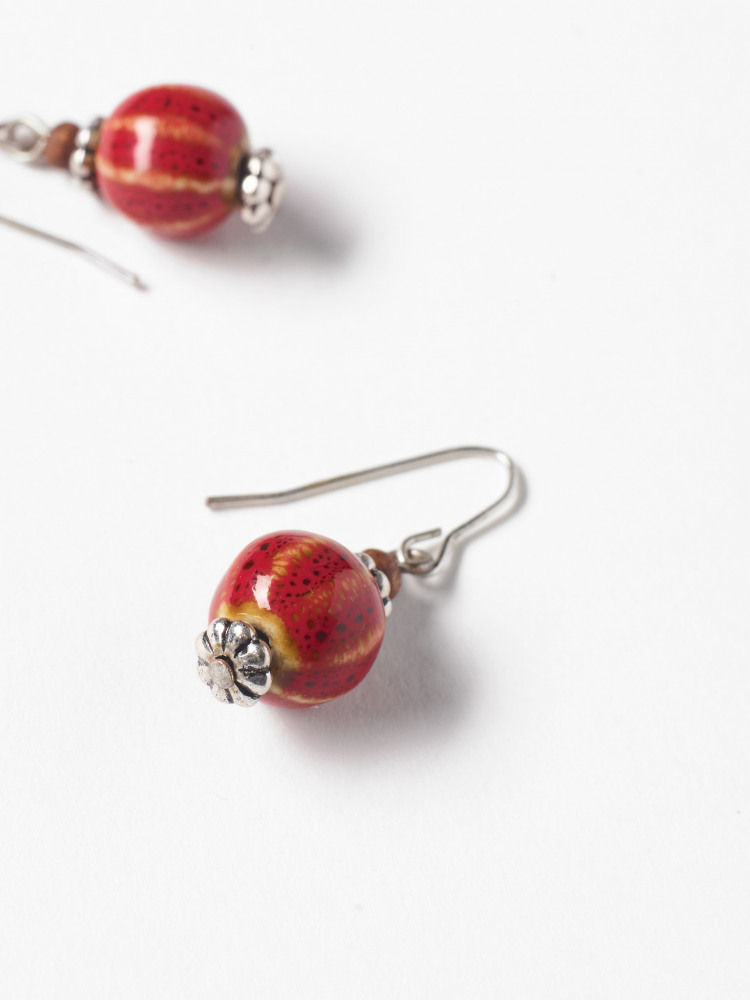 Ceramic Bead Earring