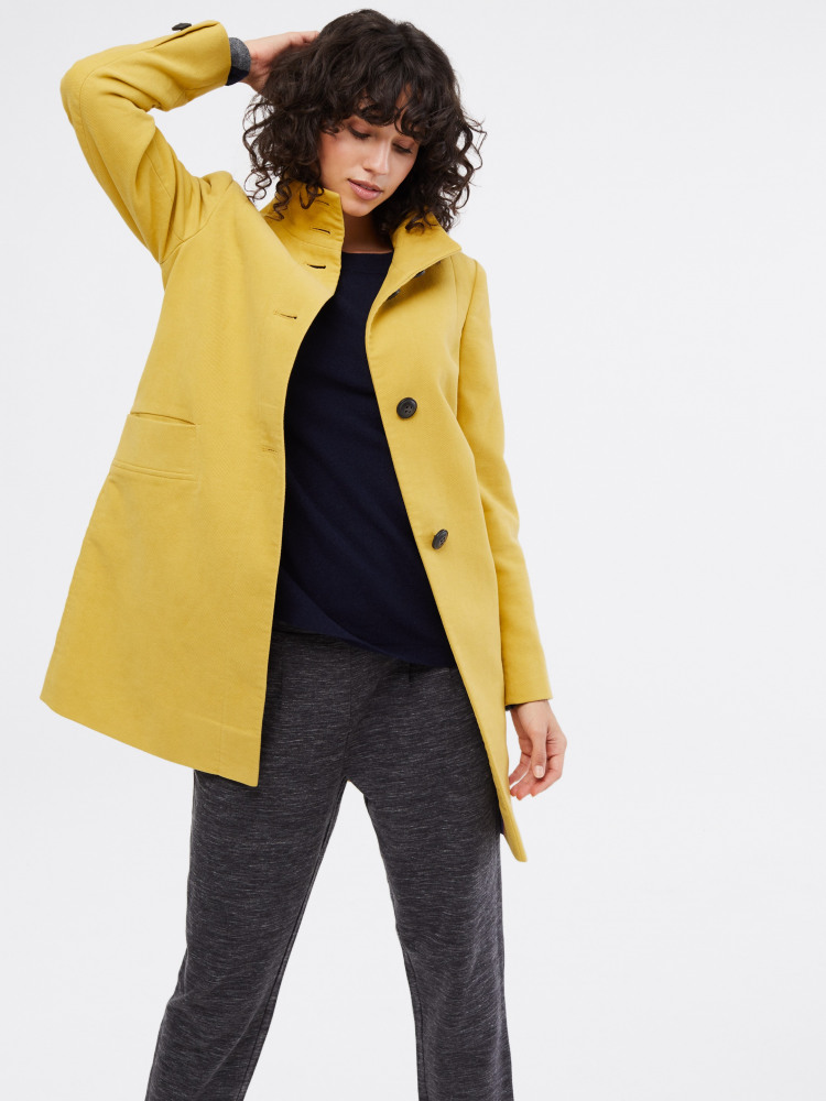 Kenley Moleskin Twill Coat