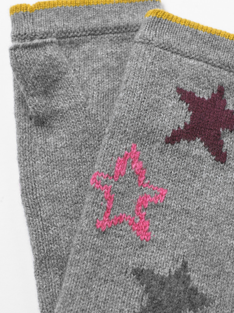 Paper Stars Fingerless Glove