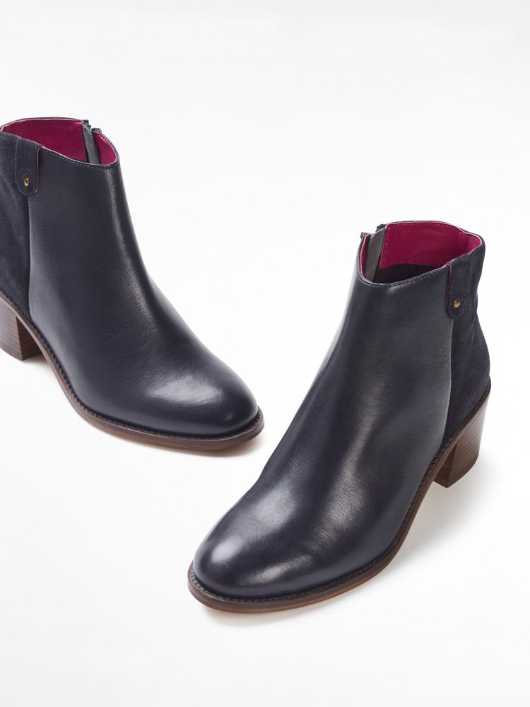 Blake Block Heel Ankle Boot