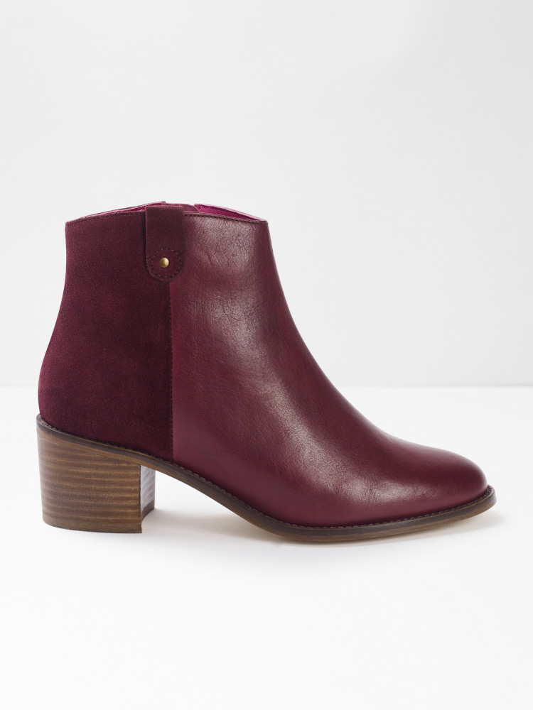 Blake Block Heel Ankle Boot