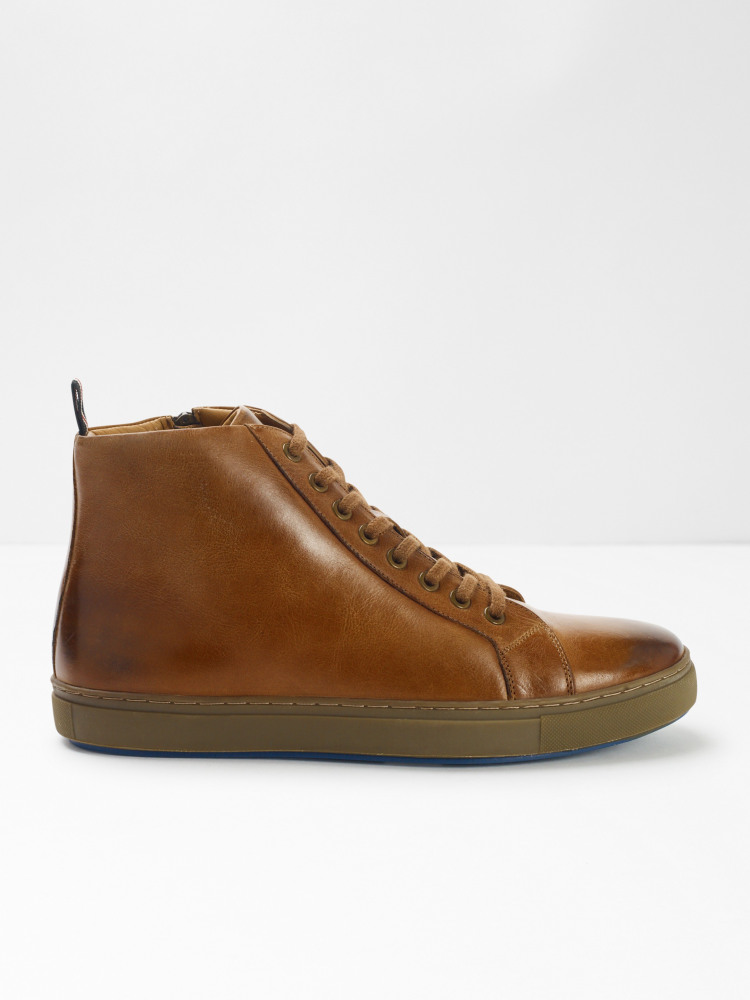 Elijah Leather Trainers