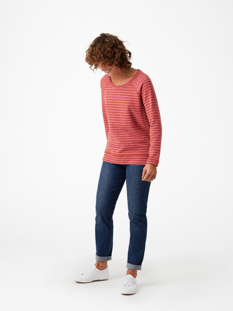 Sally Stripe Jersey Top