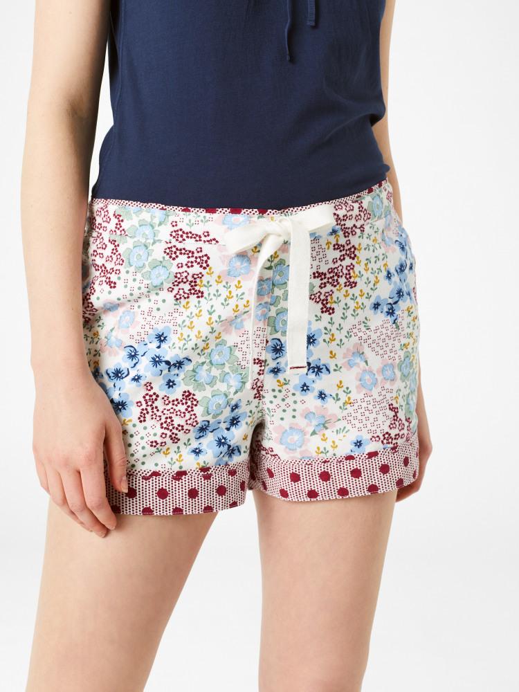 Patchwork Floral Short