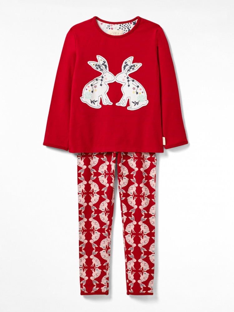Counting Bunnies Jersey Pj Set