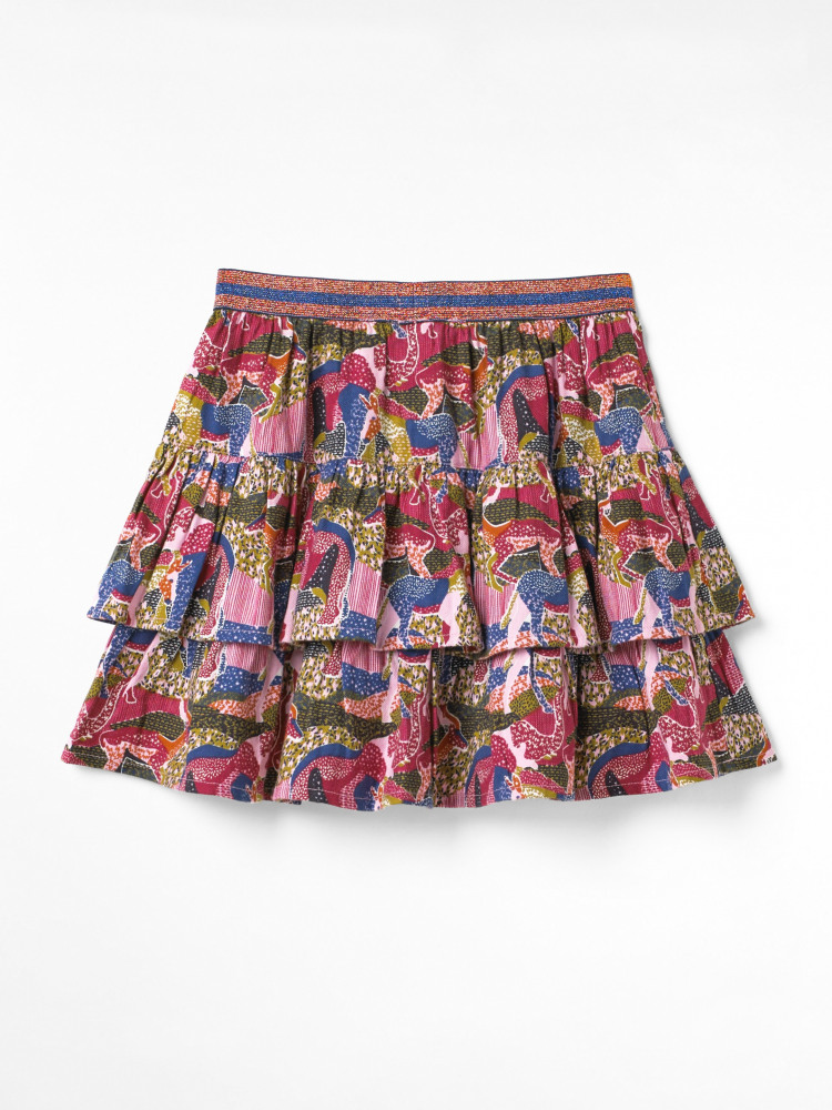 All Together Now Woven Skirt