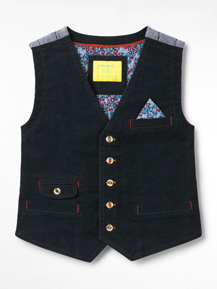 Callum Cord Waistcoat
