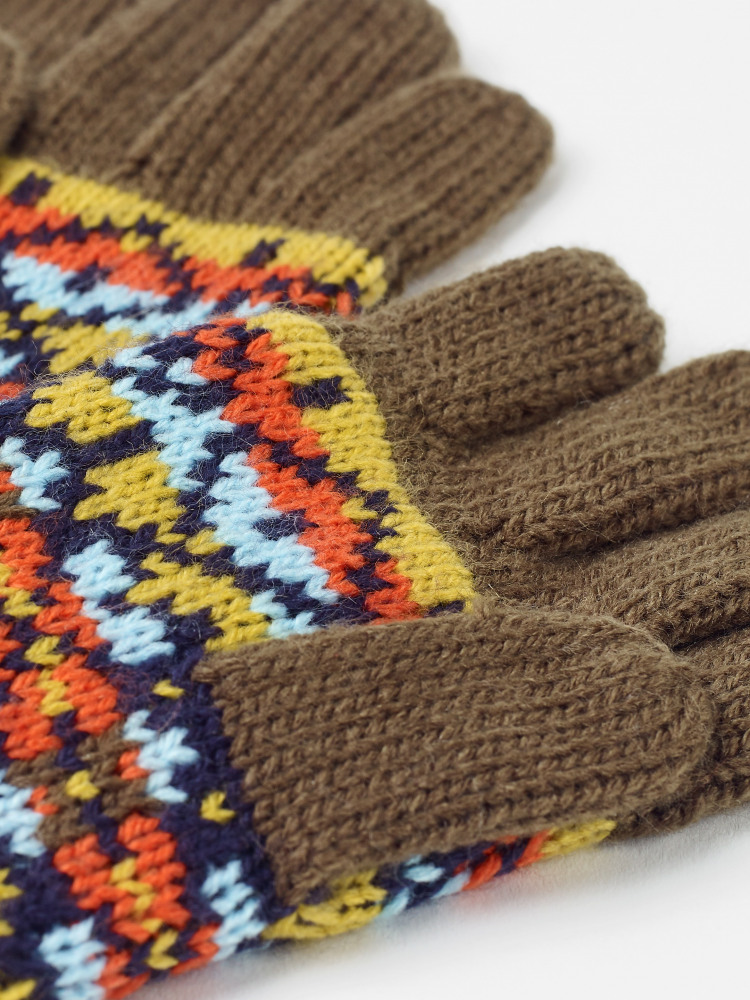 Kids Freddy Fairisle Hat Gloves Set