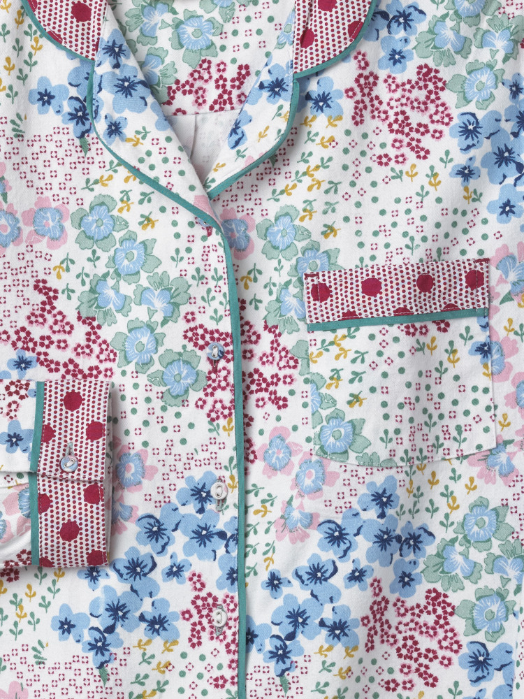Patchwork Floral Night Shirt