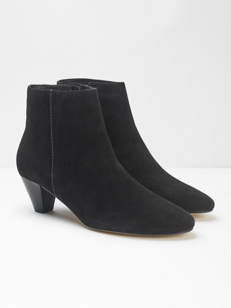 Zadie Point Suede Boots