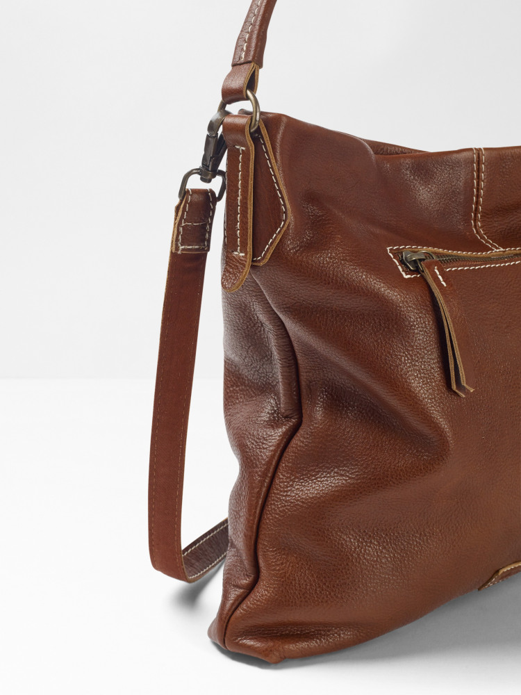 Emma Leather Hobo
